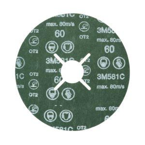 3M™ Fibre Disc 581C, 115 mm x 22 mm, P60