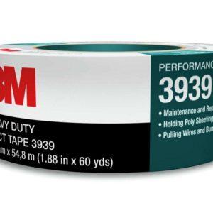 3M™ Heavy Duty Duct Tape 3939 Silver 48 mm x 54.8 m