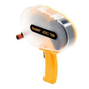 Scotch® ATG Adhesive Transfer Tape Gun ATG700, Yellow, Model 19600